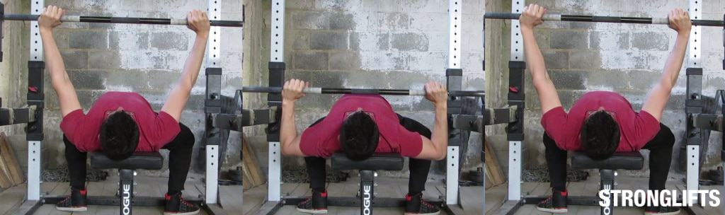How To Gain Strength In Bench Press Part - 46: Bench Press Form 101