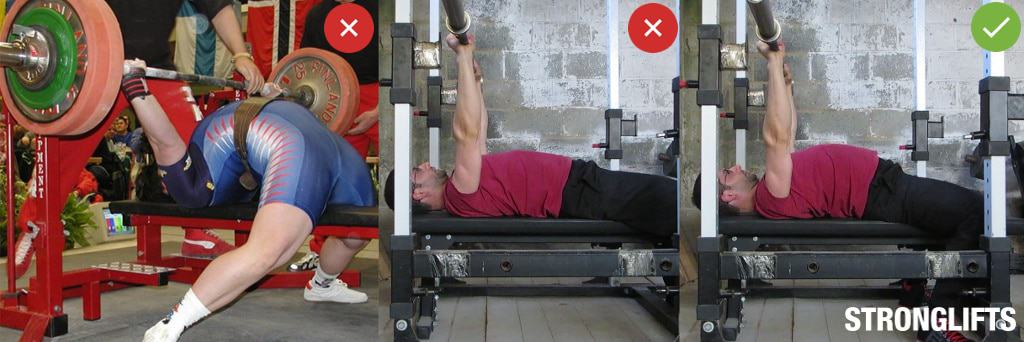 Benching Own Weight Part - 31: Bench Press Arch