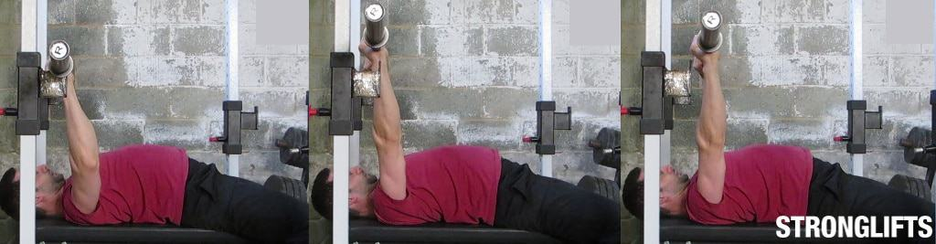 Bench Press Unracking