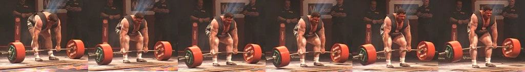Deadlift Andy Bolton