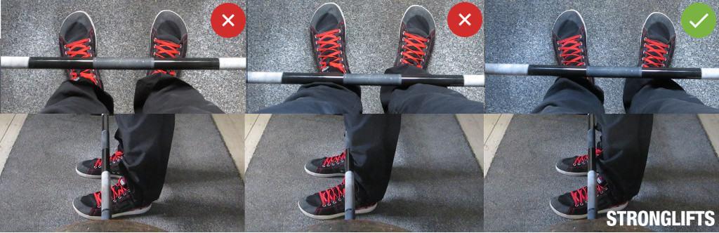 Proper Deadlift Foot Stance