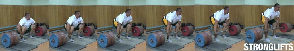Deadlift Mikhael Koklyaev