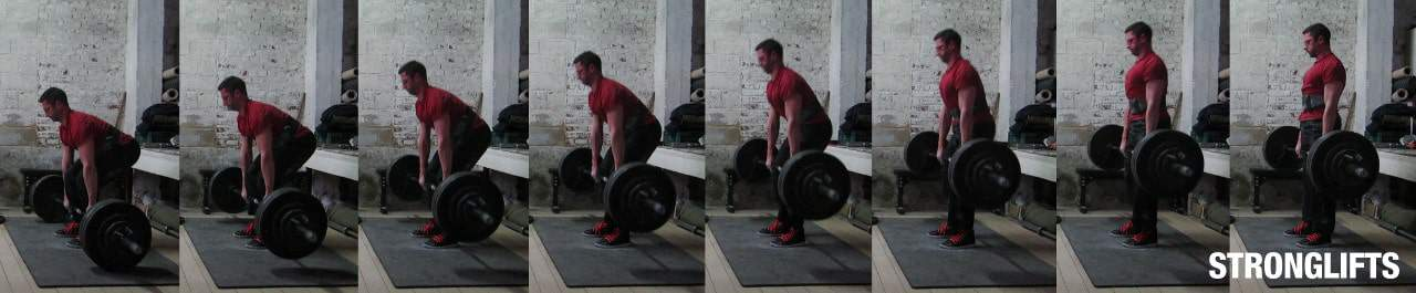 Deadlift pull
