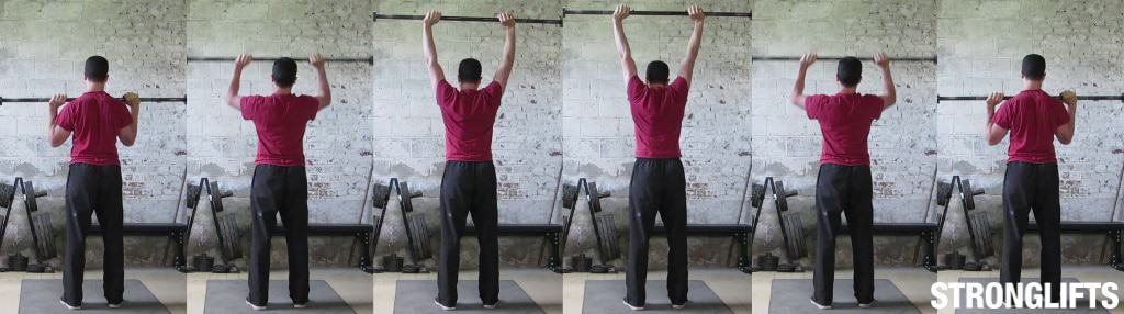 How To Overhead Press With Proper Form The Definitive