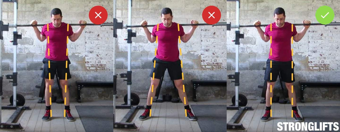 Squat Stance Standing